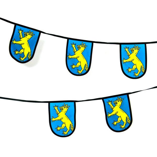 Wimpelkette Wappen Biberach Schützen Shop Schützenfest