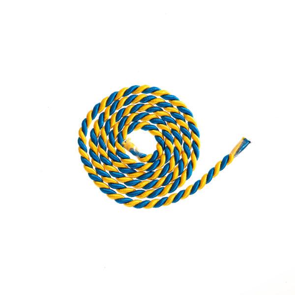 Kordel blau gelb Biberach Schützen Shop Schützenfest