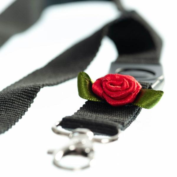 Schlüsselband schwarz Biberach Schützen Shop Schützenfest
