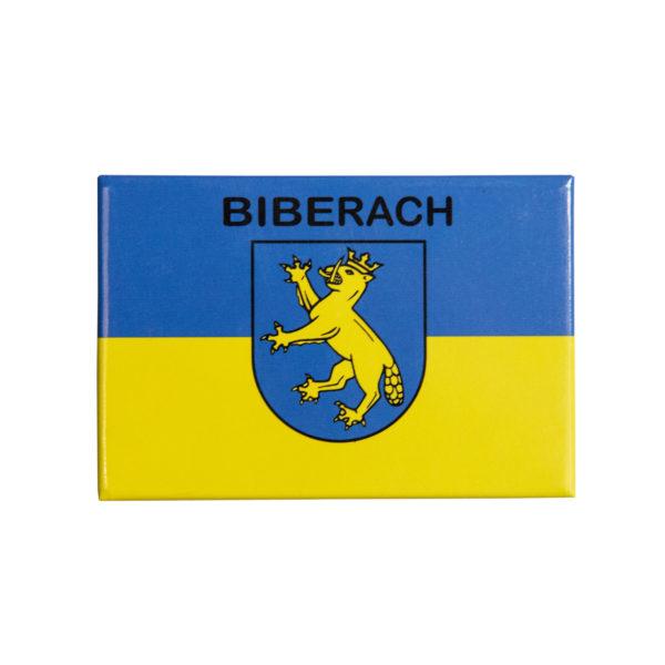 Magnet blau gelb Biberach Schützen Shop Schützenfest