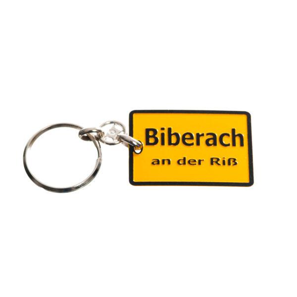 Schlüsselanhänger Stadtschild Biberach Schützen Shop Schützenfest