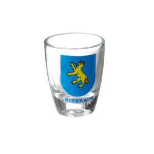 Schnapsglas Wappen Biberach Schützen Shop Schützenfest