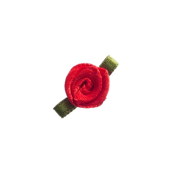 Rose Satin mini mit Blatt Biberach Schützen Shop Schützenfest
