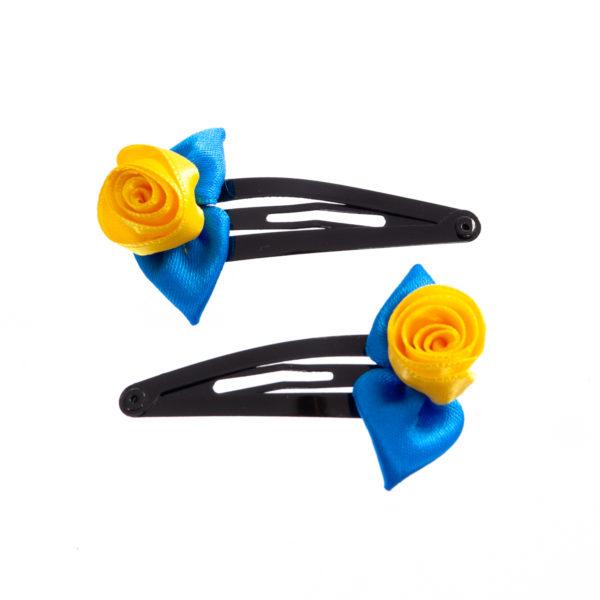 Haarspange blau gelb Biberach Schützen Shop Schützenfest