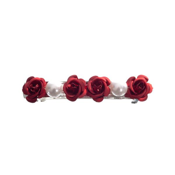 Haarspange Rosen Perlen Biberach Schützen Shop Schützenfest