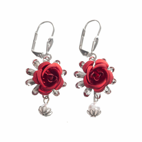 Ohrhänger Blüte Rose Biberach Schützen Shop Schützenfest